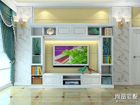 客厅电视背景墙2017