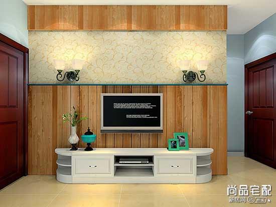 新中式客厅隔断设计