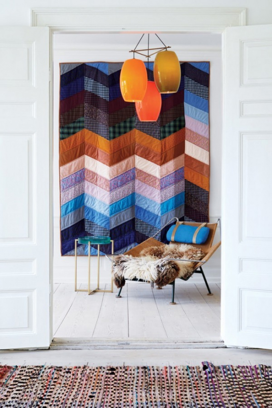 手绘艺术挂毯
