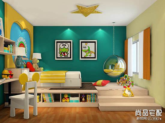 儿童房卧室榻榻米设计