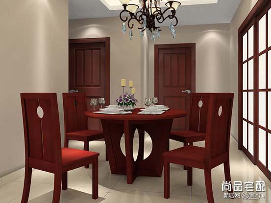 中式餐厅吊顶