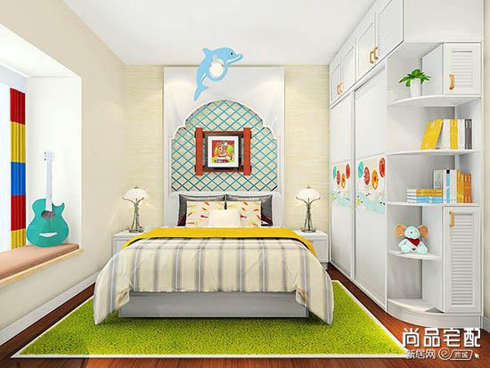 儿童卧室设计图片