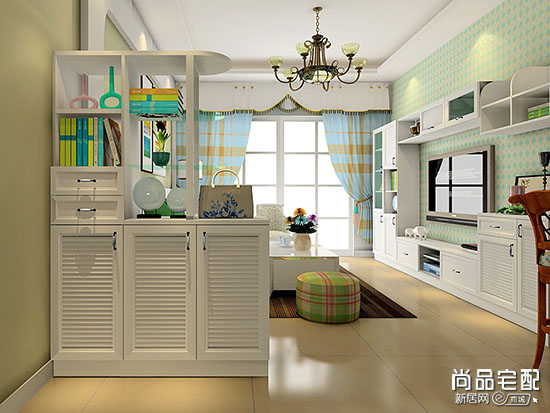 客厅隔断设计图