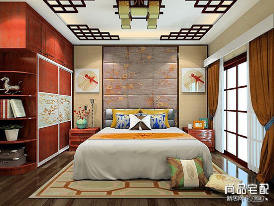 卧室背景墙风水