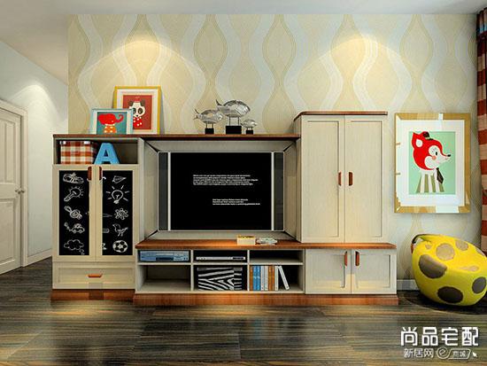 实木电视柜设计图