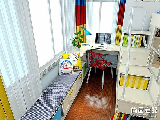 儿童房装修效果图榻榻米