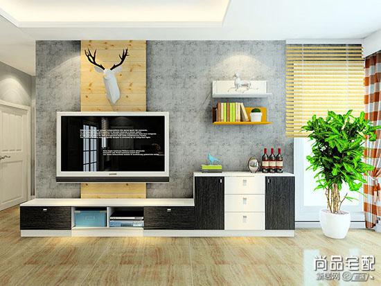 客厅电视背景墙造型