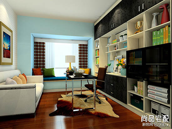 中式书房颜色