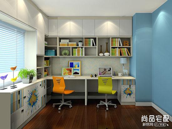开放式小书房