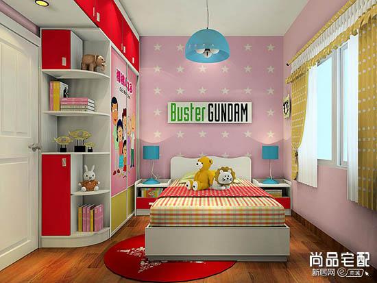 小平米儿童房设计怎么做比较合理?