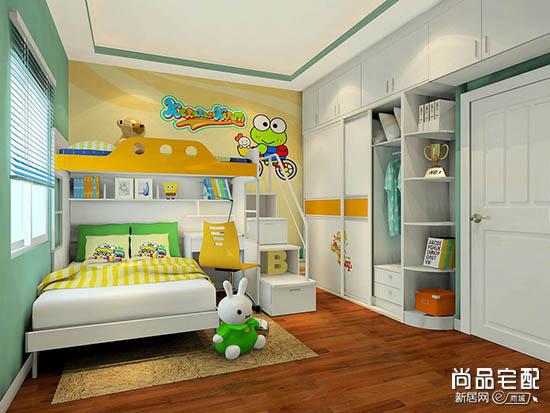 儿童卧室衣柜风水