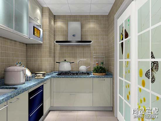 u型小厨房设计