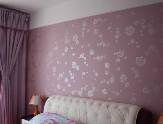2017卧室墙纸效果图大全