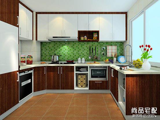 开放式小厨房装修