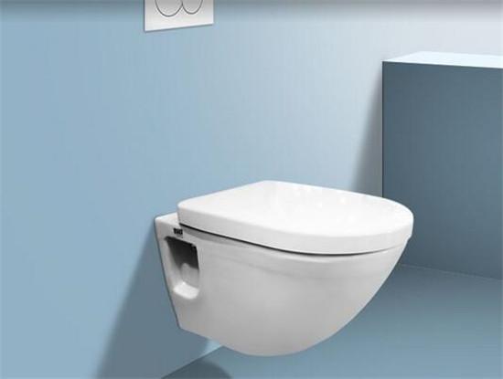 挂壁式马桶是一种比较新型的坐便器,此款马桶的外观比普通的马桶要