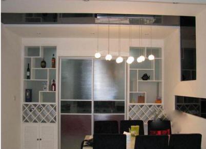厨房玻璃推拉门图片图片