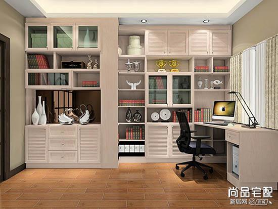 欧式书柜图片