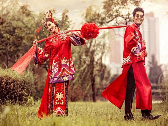 中式新娘发型图片大全