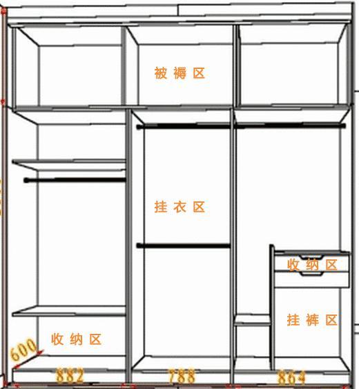尚品宅配生活方式衣柜,家庭收纳的好帮手