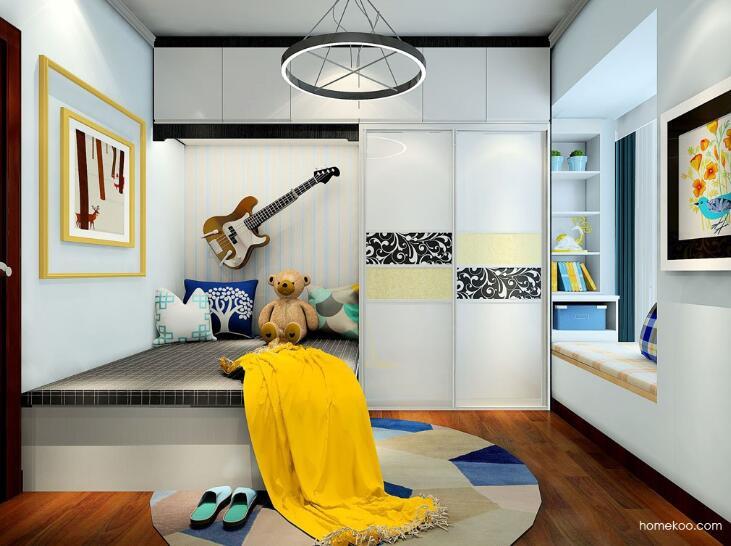 尚品宅配一口价衣柜,头一次见卧室衣柜可以这样装