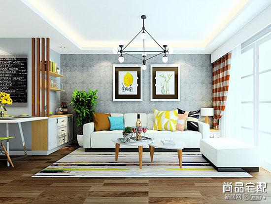 客厅背景墙挂画搭配什么比较好?