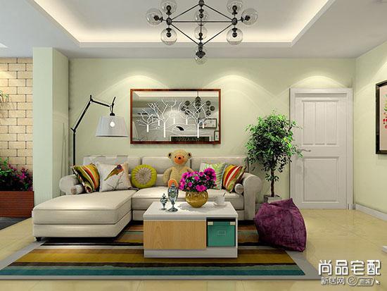客厅背景墙挂画