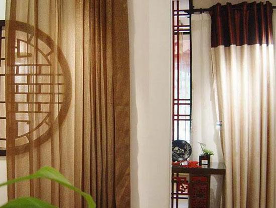 中式窗帘特点都有哪些?