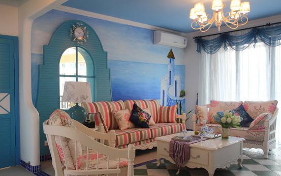 欧式地中海风格家装图片,让人过目难忘