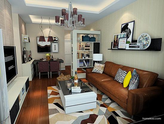 尚品宅配客厅效果图,提升您的品位