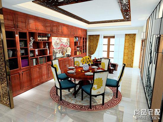 中式餐厅设计说明