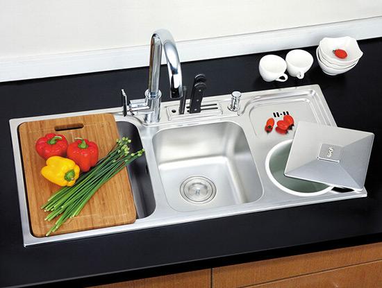 不锈钢整体厨房设备