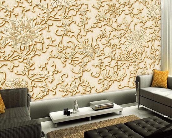 沙发背景墙浮雕