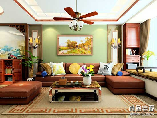 客厅装修设计3000例