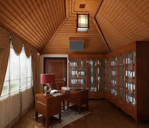 阁楼书房设计