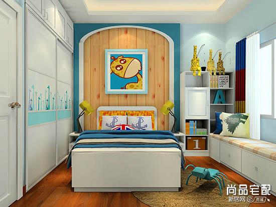 小空间儿童卧室设计