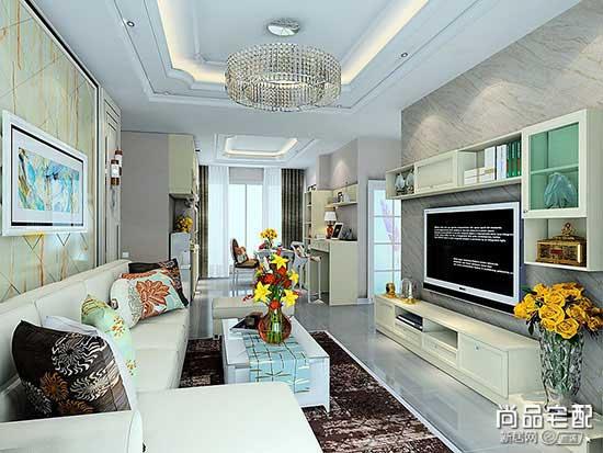 客厅水晶吊灯图片