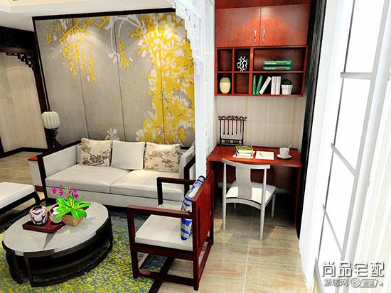 小客厅兼书房