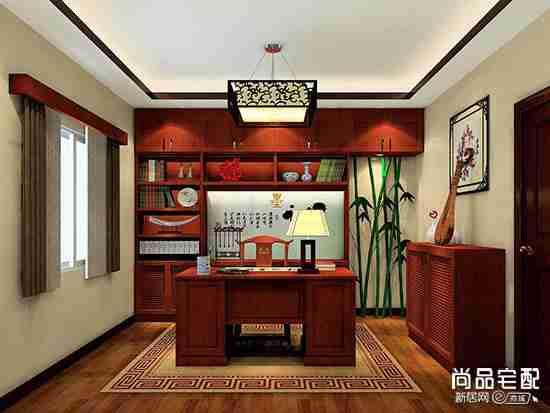 小型书房样板间怎么设计?