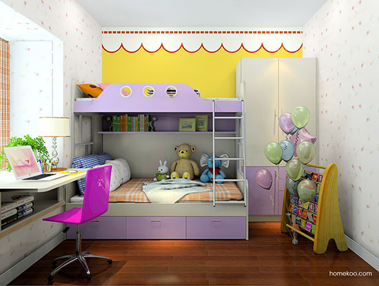 儿童房间装修效果图大全