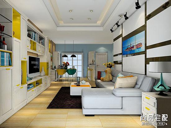 客厅电视墙颜色图片