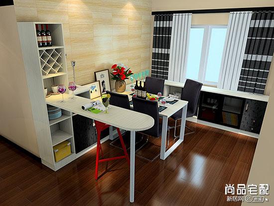 客厅与餐厅隔断酒柜图