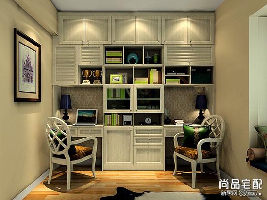 小型书房样板间