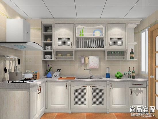 小厨房整体橱柜效果图