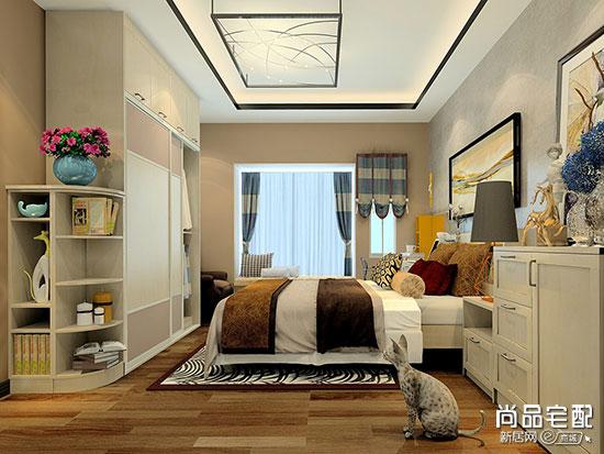 卧室吸顶灯效果图