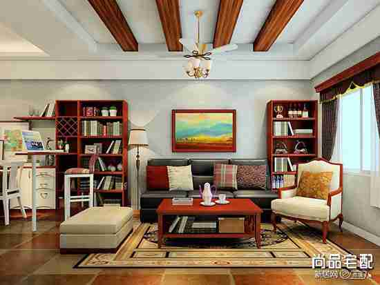 欧式装修中式家具混搭,让人眼前一亮