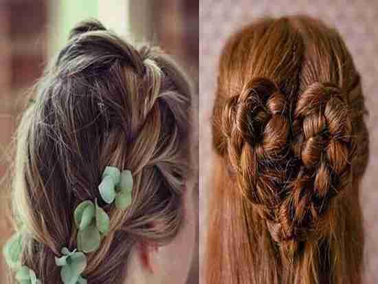 新娘发型教程图解