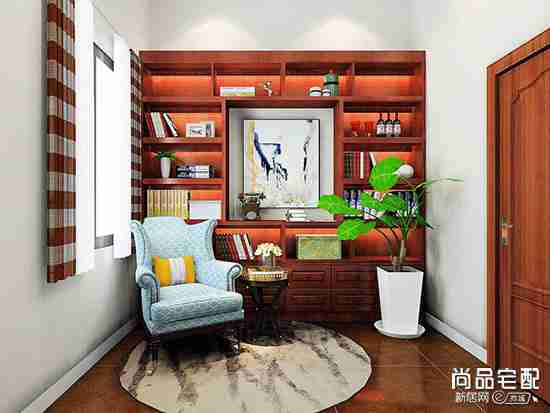 硅藻泥书房图片