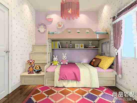 小房儿童房设计效果图