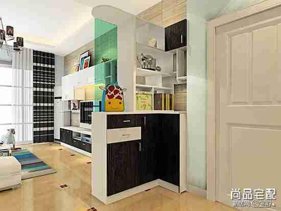 客厅鞋柜玄关图片 打造精彩的玄关鞋柜