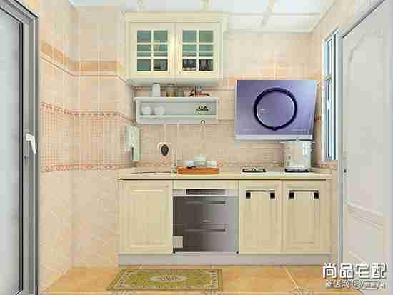 北欧简约装修厨房图